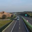 Návrat do Petrovic přes dálnici