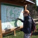 Hledáme další možnosti jet dále podél potoka Schwarze Pockau