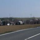 Německé větrné elektrárny patří dnes ke kulise Krušných hor