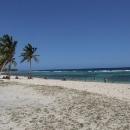 Tak to je Karibik, modré nebe, bílé pláže, palmy