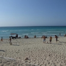 Koupání na varaderské pláži, víc jsme se tu nezdržovali