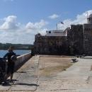 Miniaturní pevnůstka na předměstí Havany