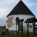 Kunštátská kaple na hřebeni Orlických hor - 1035 m.n.m.