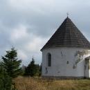 Kunštátská kaple v podzimním slunci