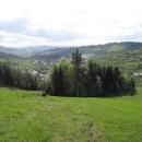 a hurá do hor! S výhledem do údolí na Skalité.