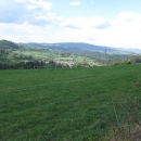 Výhled na Slezské Beskydy, ale polskou část