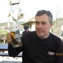 Luděk si dal místní pivko