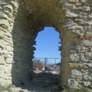 Vyhlídka z hradu na kapli