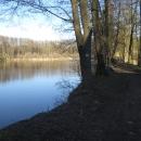 Místo toho se vydáváme také po nových cestách ze Žamberka domů (Dymlovský rybník)