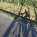 Autorka fotek na kole