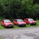 Že by úchylka na červená auta…