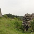 Památka na dobu středověku se tu setkává s památkou na dobu páry