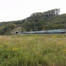 Železničním koridorem sviští Pendolino