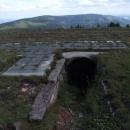 Zbytky základů Lichtenštejnovi chaty