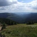 Pohled do údolí Moravy