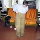 Háňa zkouší pracovní oděv - bude muset hodně přibrat