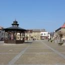 Poklidné náměstí v Brandýse nad Orlicí