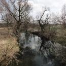 Tichá Orlice, asi dva kilometry před soutokem s její divokou sestrou