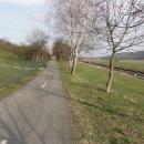 Dokonalá cyklostezka mezi Kostelcem a Doudlebami