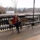 na nádraží v Doudlebách nad Orlicí zakončujeme dnešní parádní výlet