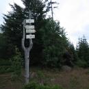 Šeřín (1027 m), tady jsem poprvé v životě