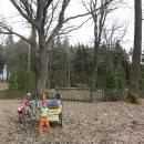 U hrobky Parishů na odlehlém místě žambereckého parku