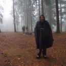 Počasí nepřálo, Michal v cyklopláštěnce