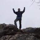 Pavel se raduje z dobytí hradu
