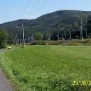Cyklostezka podél Moravské Sázavy a hlavního vlakového koridoru směrem Zábřeh