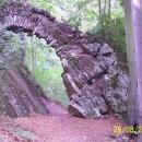 Čertův most - také patří k romantickému areálu Nových Zámků