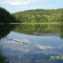Trasa od vlaku z Rudoltic vede kolem Lanškrounských rybníků