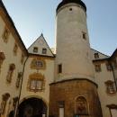 Na hradě Lemberku jdeme na věž