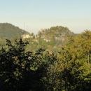 Výhledy na hrad v Oybinu