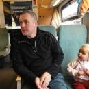 A za chvíli sedíme ve vlaku směr Žitava.