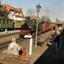 V Berisdorfu je pauza, možno přestoupit na vlak do Jonsdorfu.