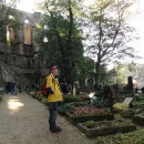 Hřbitov vedle katedrály