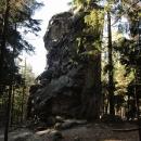 Další ze špičatých Horních skal.