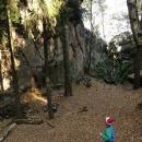 Další skalní útvary - Vraní skály jsou rájem trempů
