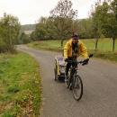 Správně už tušíte, že poslední výlet bude na kole na Ještěd.