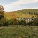 A ještě jeden pohled na viadukt shora