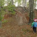 Luděk s Víťou dobývají hrad Roimund