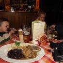 Markéta nadšená z večeře v Rynolticích :-)