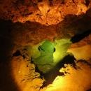 Tajné (nezaplacené) foto jeskynního jezírka