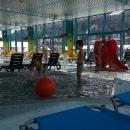 Čtvrtý den prohlašujeme za krizový a jedeme do Ramsau do bazénu. Máme tam totiž také slevu...