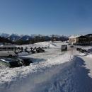 Dneska je ale krásně a parkoviště se rychle plní