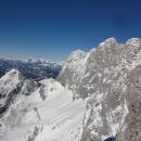 Pohled směrem k Hoher Dachsteinu, 2.995 metrů
