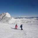 Na ledovci Dachstein