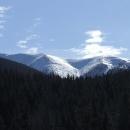 Tak někde tam jsme včera lyžovali