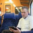 Maďarské vlaky mají nejen pěkný prostor pro přepravu kol, ale i wifi internet