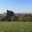 Ještě jeden pohled na hrad Hollókő